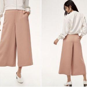 Wilfred Dusty Rose Pink Wide Leg Pants